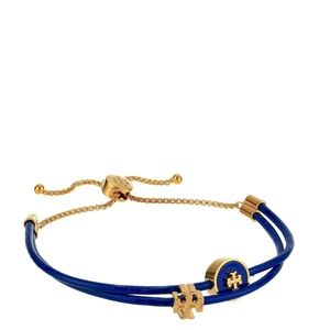 Tory Burch • Kira Enameled Leather Slider Bracelet